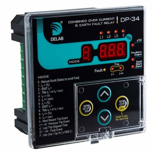 COMBINED OVER CURRENT AND EARTH FAULT RELAY DP-34