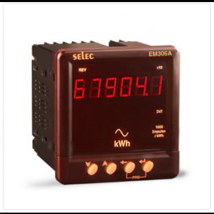 Active Energy, CT Programmable, RS485 Communication MODBUS RTU Protocol [EM306A-C]