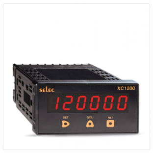 5 Digits Counter + Rate Indicator, Size : 48 X 96mm [XC1200]