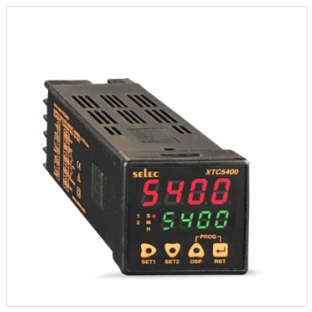 4 Digits Timer + Counter, 2 set points, Programmable Input Scaling [XTC5400]