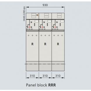 Tủ trung thế siemens 24KV 630A 20kA/3s RRT 03 ngăn loại block không mở rộng