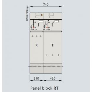 Tủ trung thế siemens 24KV 630A 20kA/3s RT 02 ngăn loại block không mở rộng